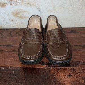 Gallucci Boy's Brown Italian Leather Loafers